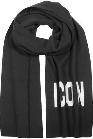 Dsquared2 Men Scarves - MEN'S KNM003401W021892124 WOOL SCARF