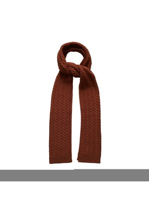 Eton Men Scarves - A00031991 48 brick red shawl