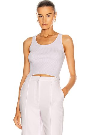 JONATHAN SIMKHAI Cecilia Crop Top in Lilac