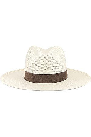 Janessa Leone Marcell Packable Hat in Bleach
