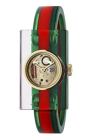 Gucci Vintage Web 24 x 40mm Watch in Resin