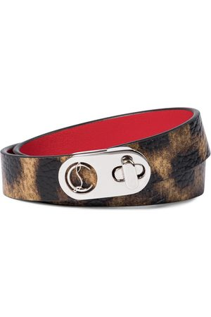 Christian Louboutin Elisa leather bracelet