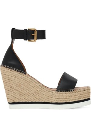 See by Chloé 120mm Glyn Leather Wedges