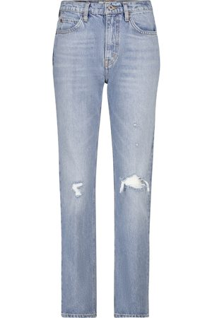 RE/DONE 70's Straight high-rise jeans