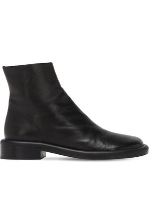 Proenza Schouler Women Ankle Boots - 30mm Leather Ankle Boots