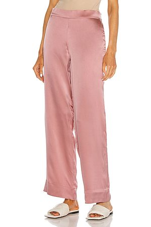 ASCENO The London PJ Bottom in Dusty Rose