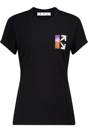 OFF-WHITE Logo cotton T-shirt