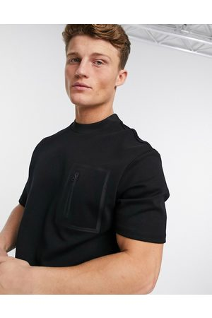 River Island Textured t-shirt in