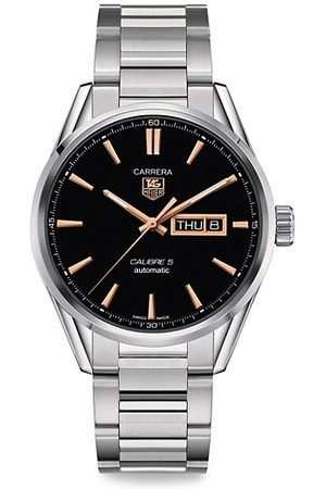 Tag Heuer Carrera 41MM Stainless Steel Day-Date Automatic Bracelet Watch