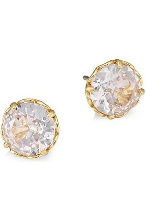 Kate Spade Round Faceted Mini Stud Earrings