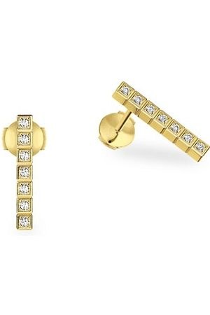 Chopard Earrings - Ice Cube Diamond & 18K Earrings
