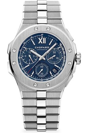 Chopard Alpine Eagle Chronograph Stainless Steel & Blue-Dial Bracelet Watch