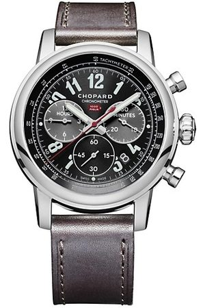 Chopard Mille Miglia 2016 Race Edition Stainless Steel & Leather-Strap Chronograph Watch