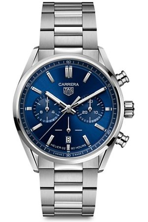 Tag Heuer Carrera Elegance 42MM Stainless Steel Bracelet Automatic Chronograph Watch