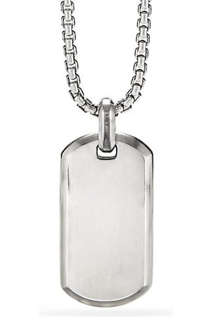 David Yurman The Streamline® Collection Sterling SIlver Tag Pendant