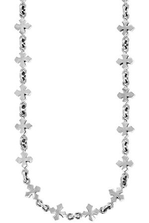 King Baby Studio New Classics Cross Sterling Necklace