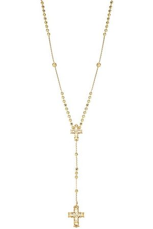 EMANUELE BICOCCHI 24K Yellow Goldplated Sterling Silver Rosary