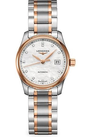 Longines Two-Tone Stainless Steel Bracelet Watch