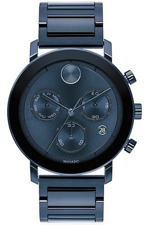 Movado BOLD Evolution Chronograph Ion-Plated Stainless Steel Bracelet Watch