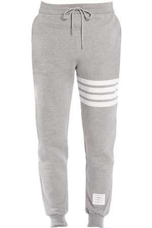Thom Browne Stripe Cotton Joggers
