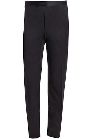 Saks Fifth Avenue COLLECTION Tuxedo Wool Trousers