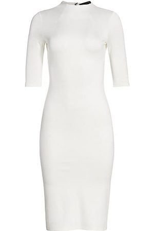 ALICE+OLIVIA Delora Knit Bodycon Dress