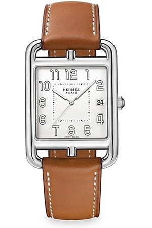 Hermès Cape Cod 33MM Stainless Steel & Leather Strap Watch