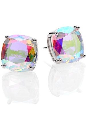 Kate Spade Iridescent Small Square Stud Earrings