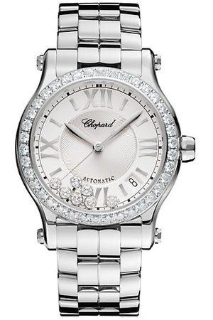 Chopard Happy Sport Stainless Steel & Diamond Bracelet Watch