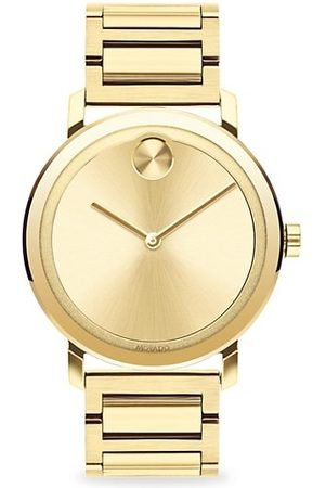 Movado Men Watches - BOLD Evolution Light Ion-Plated Stainless Steel Bracelet Watch