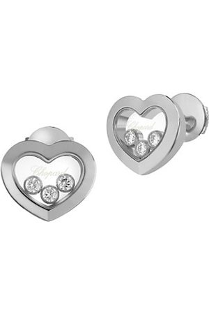 Chopard Earrings - Happy Diamonds Heart 18K Stud Earrings
