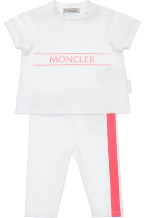 Moncler Girls Leggings - Cotton Jersey T-shirt & Pants