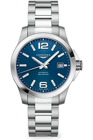 Longines Conquest Stainless Steel Bracelet Watch