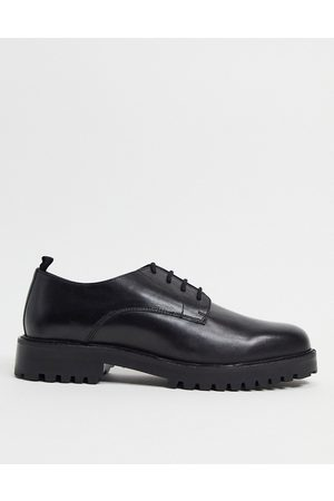 WALK LONDON Men Shoes - Sean derby lace up shoes in leather
