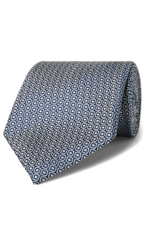 Charvet Men Neckties - 8.5cm Silk-Jacquard Tie