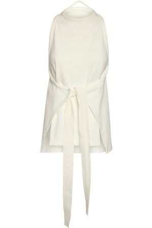 MM6 MAISON MARGIELA Sleeveless Ribbed Cotton Jersey Top