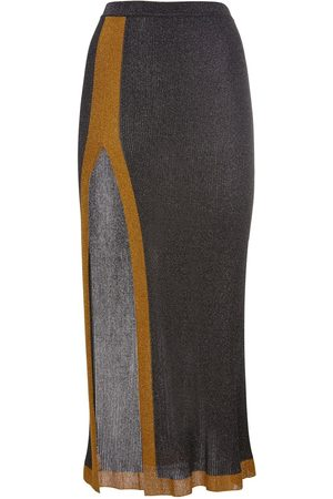 Missoni Viscose Blend Long Skirt W/ Side Slit