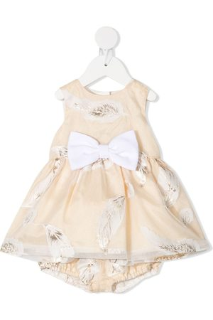 HUCKLEBONES LONDON Bow-belted dress with bloomers