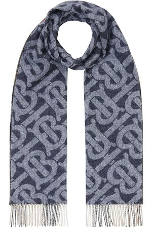 Burberry Reversible cashmere check scarf