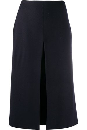 Jil Sander Pleated-detail midi skirt