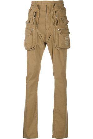 Dsquared2 Exaggerated-pocket slim-leg trousers