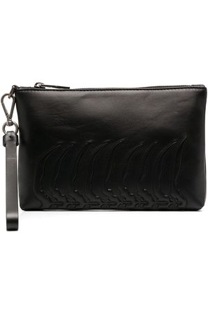 Alexander McQueen Zip-up wash bag