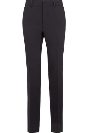 Fendi FF-logo detail tailored trousers