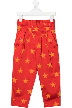 The Animals Observatory Star print trousers