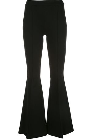 ROSETTA GETTY Pintuck flared trousers