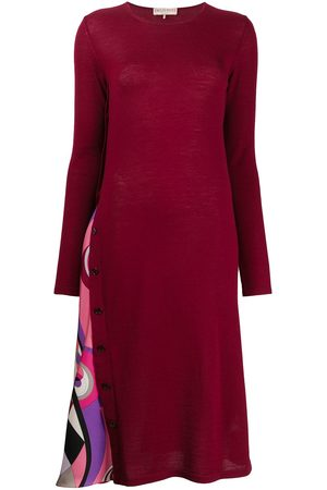 Emilio Pucci Panelled knitted dress