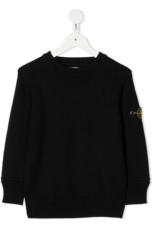 Stone Island Logo-patch jumper