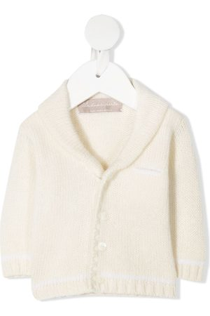 LA STUPENDERIA Wool shawl-collar jacket