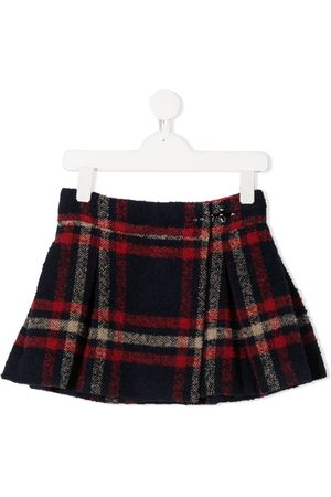 FAY KIDS Check-print skirt