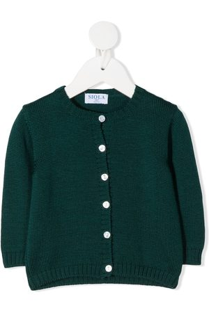 SIOLA Button-up round-neck cardigan